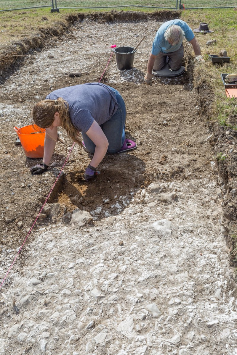 #FlashbackFriday to sunnier times at our Butts Brow excavation last year. Over three weeks we spoke to 2,000+ people- many did not realise they were standing on 6,000 years of history! We're looking forward to getting back out! Butts Brow 2021 pending...