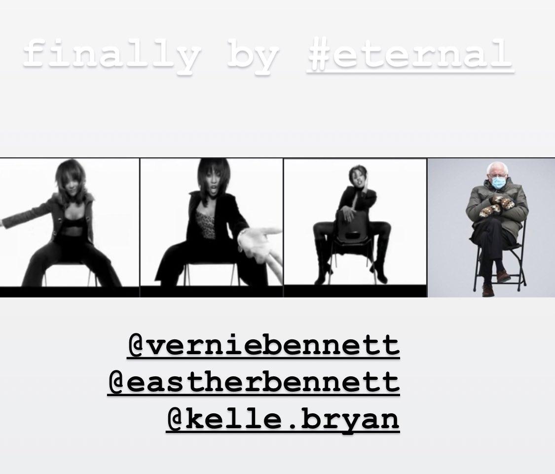 finally by @EternalReunion  @verniebennett @EastherBennett @kellebryan #FlashbackFriday #fridayfun 😂 #eternal