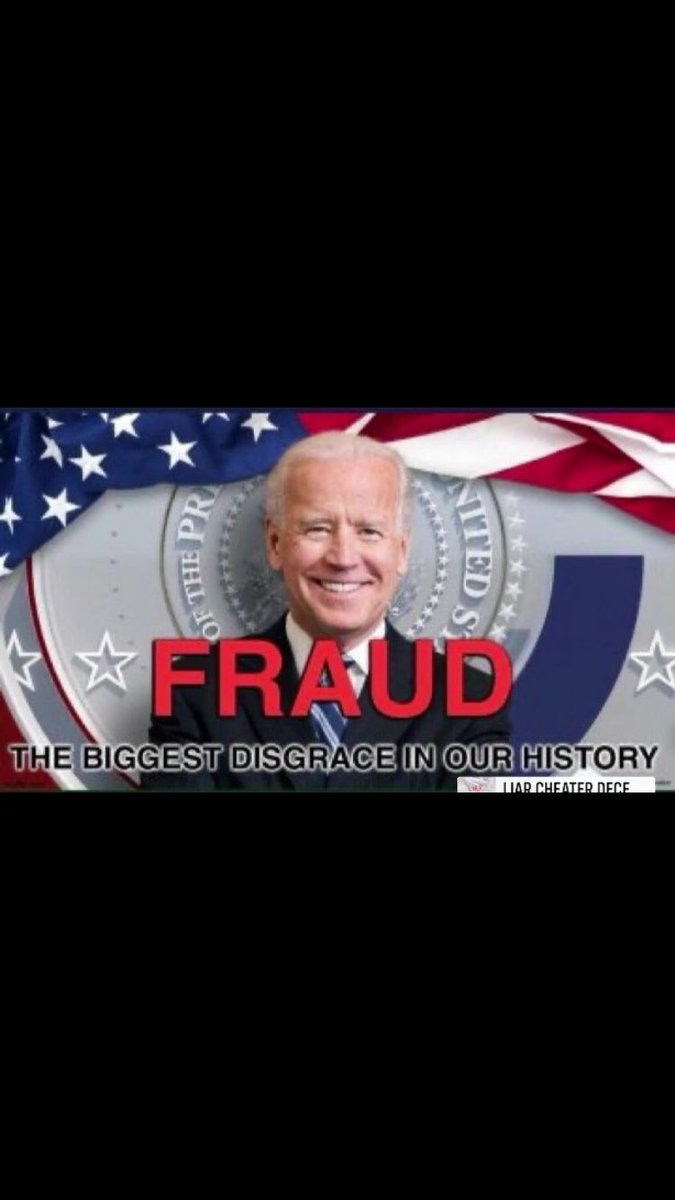 @MarvinSutton An unelected, senile agent of China has been installed. Americans did not vote for this, and I pray our military will fix it! #NobodysPresident #ImpeachBidenNow  #OverthrowBiden