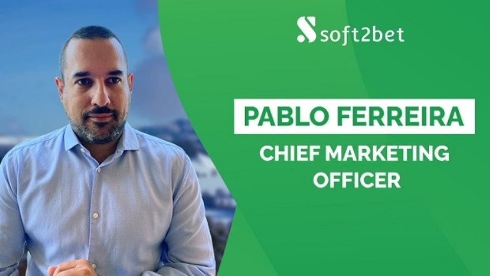 Soft2Bet nomeia Pablo Ferreira como Diretor de Marketing https://t.co/REm7lXMJWb #apostas #loterias #cassino https://t.co/vUIbjnI4zP