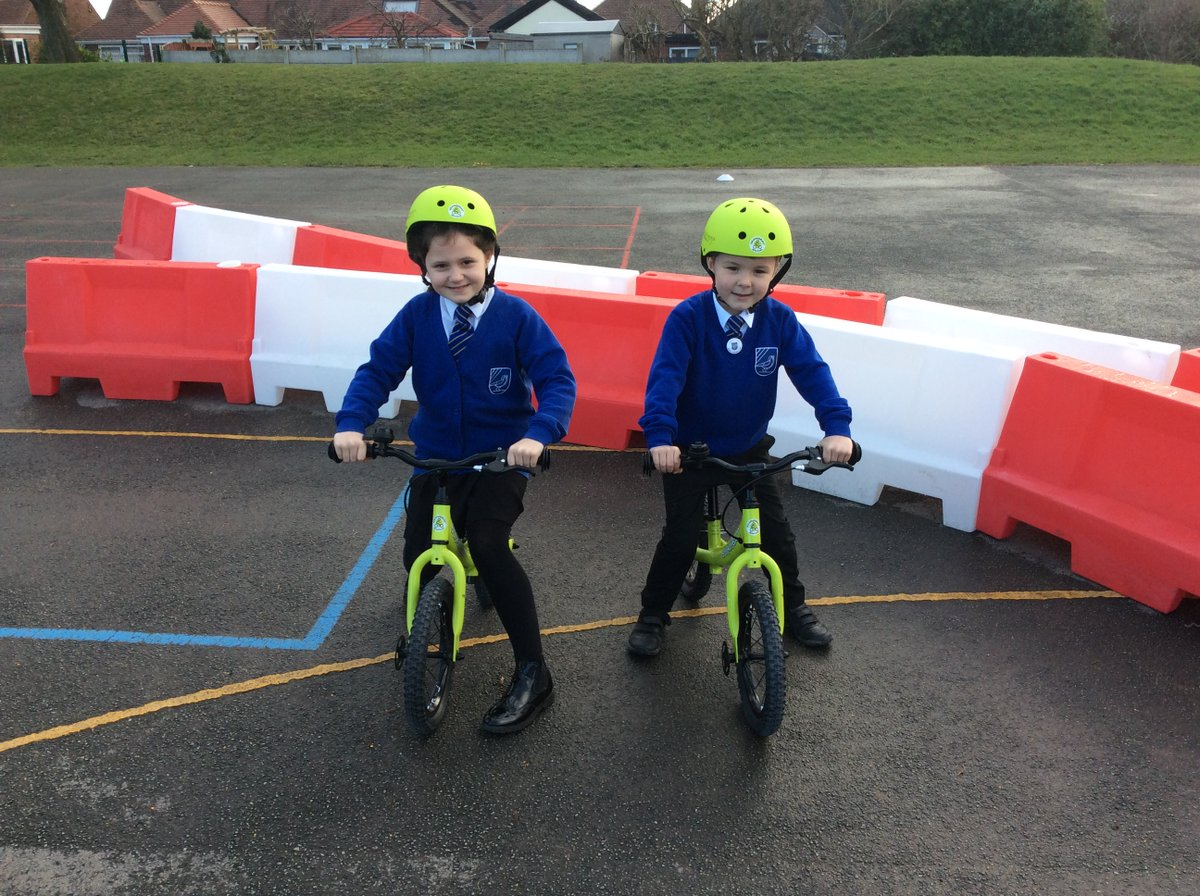 Balanceability bikes have arrived at Larks Hill! A couple of volunteers from Year 1 and 2 have been trying them out #balanceability #PE #fun #SportPremium #bikelife #fitness #healthybodyhealthymind