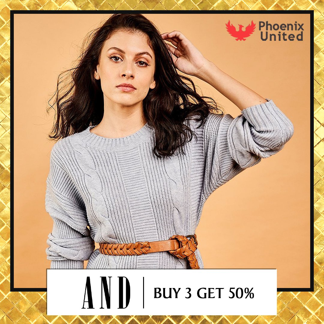 It's time to refresh your wardrobe with a super stylish collection at @stylebyand .Head to Phoenix United, Alambagh today & shop your heart out. #AND #EndOfSeasonSale #EOSS #Sale #SaleOffer #Wintercollection #WinterWear #Exclusivecollection #offers #discounts #ShopNow