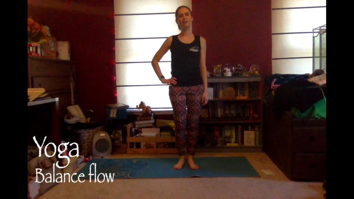Improve your #Balance & #flexibility with this 30-minute yoga flow. All you #need is a yoga mat.   30-Minute Yoga Flow for Balance  via @YouTube  @tdidraevolve   #Meditation #YogaChallenge #yogi #stretchingexercises #Stretching #Stretch #fitness #workout