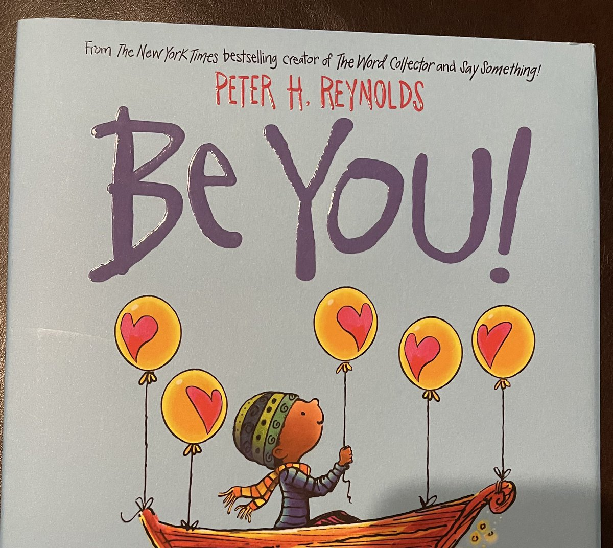 Off 2 read to my kindergartners. Today's book is 'Be You' by @peterhreynolds (a favorite of ours.)  #ReadToAChildToday #WordsMatter #BeYou @CajunBlueAZ1 @ShelbyKStewart @MaddyVBH2020 @dianemariereid @BingBongBingBi1 @KenobiCheated  @phyllisj1003 @Tmcguire_pa