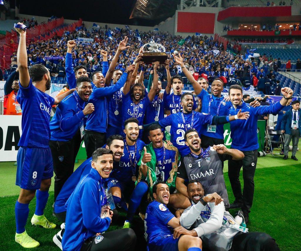 🌟 || الهلال هو النادي السعودي الوحيد المتواجد بالمستوى الأول في قرعة دوري أبطال آسيا (2021)💪🏻💙 .