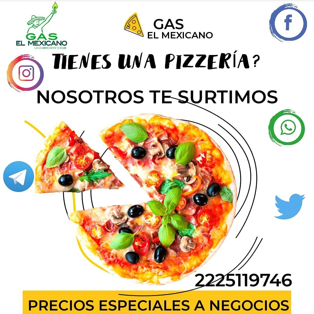 Amigo te dedicas a elaborar #pizzas ? Comunícate y obtén grandes beneficios, descuentos, promociones y más!!! #facebook #intagram #WhatsAppBusiness #Telegram #Twitter  2225119746  Somos la flama de tu hogar y negocio #gaselmexicano #GasLP #LitrosCompletos #elgasdelasestrellas https://t.co/BEVoAJN6XE