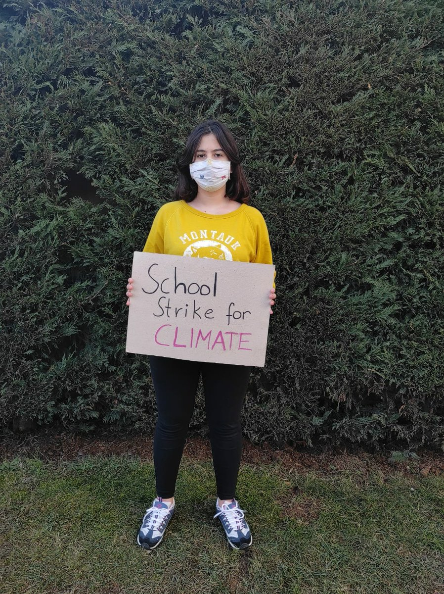 My 79th Week on #ClimateStrike in Istanbul  We want Climate Justice ✌️🌍  #FaceTheClimateEmergency  #ClimateCrisis #schoolstrike4climate #COVID19 #StayAtHome https://t.co/6Qur3FOBvP