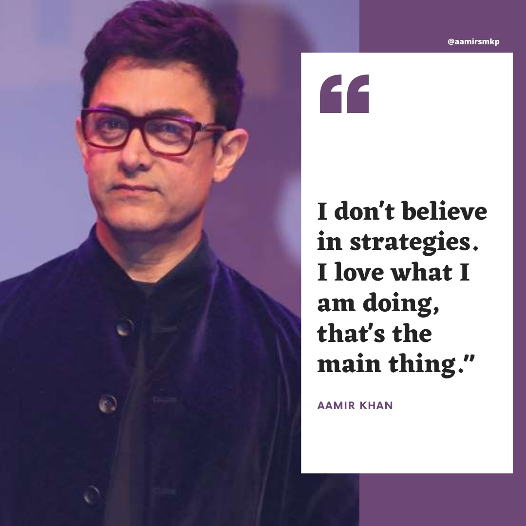 He's so dedicated to his work 💕🙌 we love to see it @aamir_khan  #AamirKhan #quote