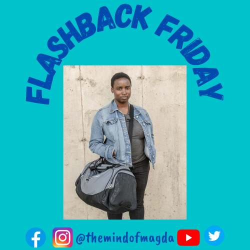 Flashing back to the big chop! That's right! About 8 years ago, ya girl chopped it ALL off. 💇🏾‍♀️Sometimes you need to cut things off to grow. What's your Flashback Friday moment? Comment below and let me know! 🗣  #FlashbackFriday #TheMindofMagda #WomenPodcasters #PodcastersofColor