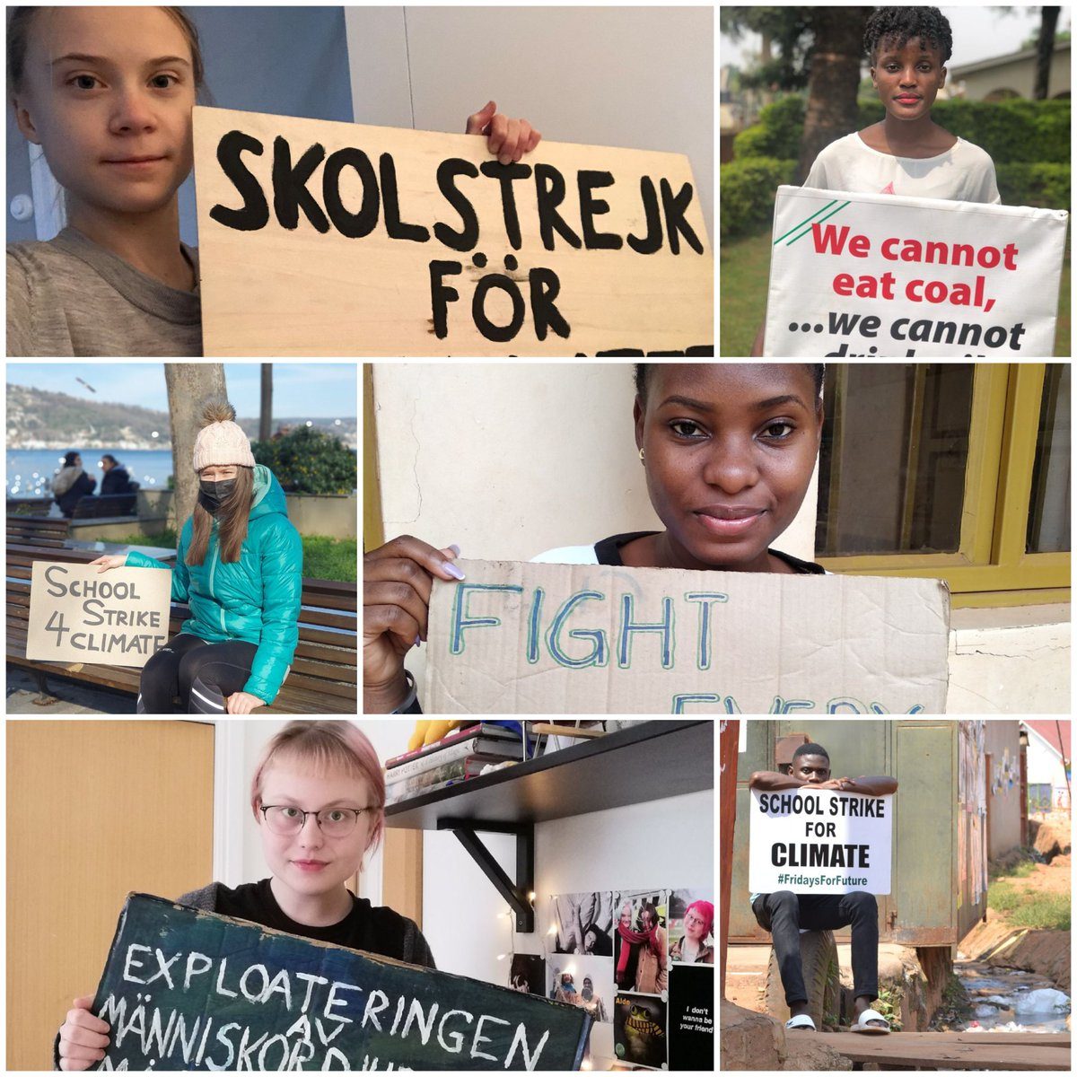 So heartening to scroll through twitter today - the children and young people from all over the  🌍 on #schoolstrike 127 The #ClimateEmergency is not going away and nor is the need to make our leaders #ActNow  #FridaysForFuture #FaceTheClimateEmergency   #StopHS2 #ClimateAction