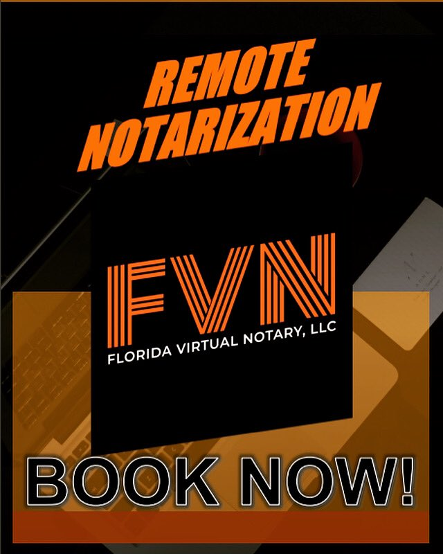 Did somebody say remote notarization? BOOK NOW! #remotework #Google #booknow #floridastyle #fridaymorning #TGIFeelGoodFriday #notarypublicservices