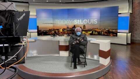 Guess who dropped by the set this morning before #TISL? #TheBern