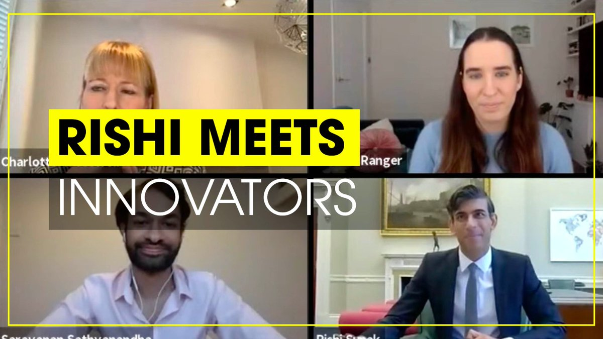 If you missed this week's virtual #PlanForJobs panel on entrepreneurship and innovation you can watch the whole event on Youtube featuring @TheoPaphitis, @honestburgers, @InnFin and @Monolith_AI. 👇