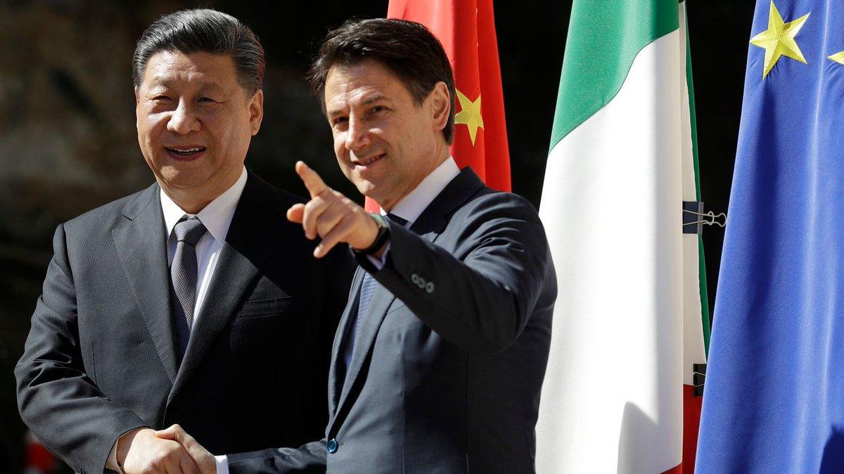 Italia fue el primer miembro del G7 en unirse a este proyecto, en 2019. Las dos naciones firmaron un Memorando de Entendimiento por valor de 2.500 millones de euros que involucra proyectos de infraestructura en Italia, incluida la energía y el transporte marítimo https://t.co/9WrNXM9ucG