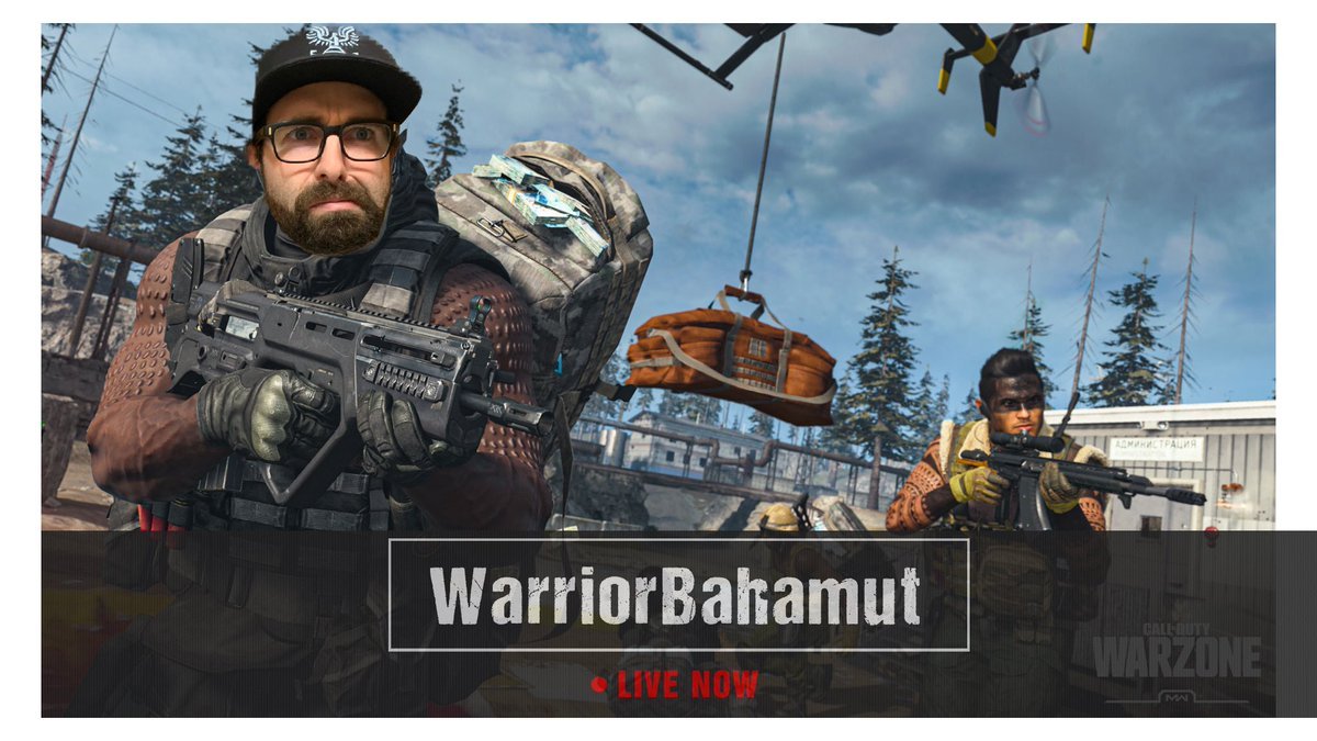 A new force to be wrecking with been acquired! No I didnt photoshop myself into the game... 🤣 going #live on #twitch in about 15 minutes (9:00am EST) to try and not get wrecked on Warzone!   #cod #warzone #fps #pc #pcgaming #drops #twitchaffiliate #twitchstreamer #TwitchStream