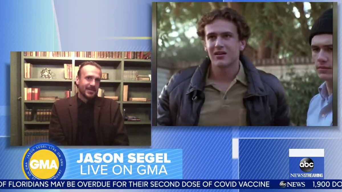 """.@jasonsegel can't believe that it's been over 20 YEARS since """"Freaks and Geeks"""" premiered!"""