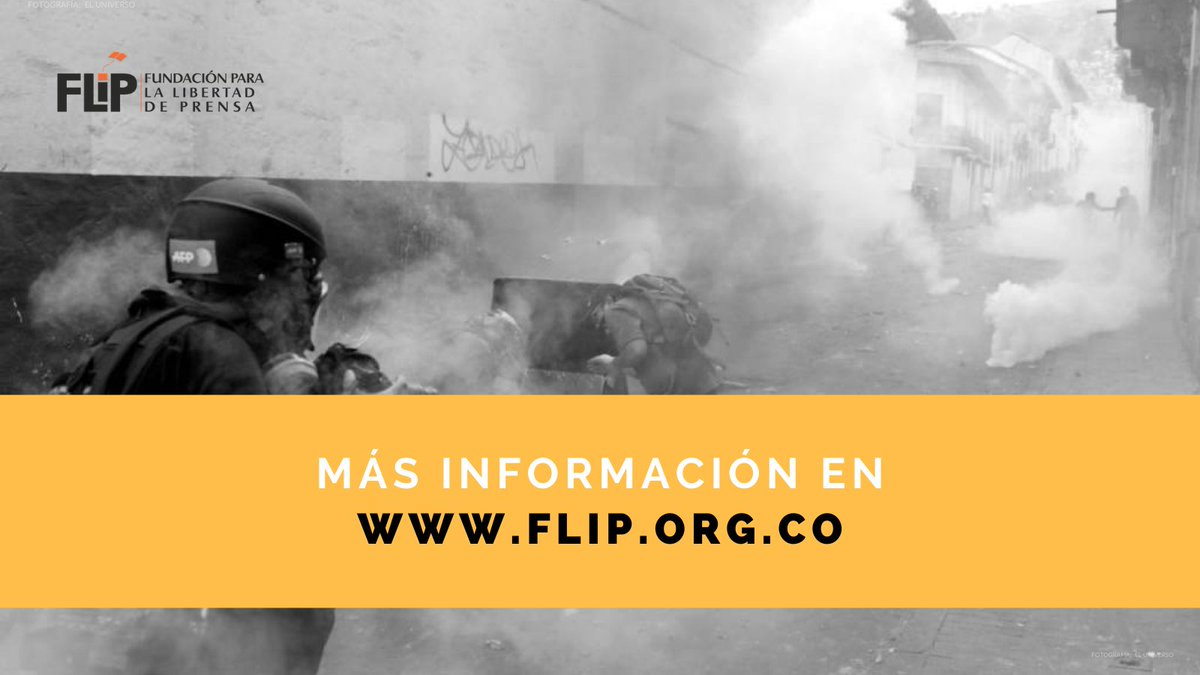 Si como periodistas son víctimas de alguna agresión durante el cubrimiento de manifestaciones, no duden en ponerse en contacto con nosotros. 📞  Tengan a la mano otros contactos de emergencia.  Más información en ⏩
