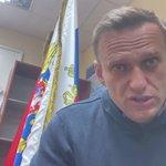 Image for the Tweet beginning: Jailed Kremlin critic Navalny, on