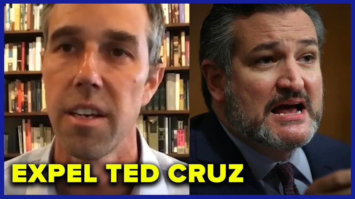 Retweet if you agree with @BetoORourke that Ted Cruz needs to be immediately expelled from the Senate.