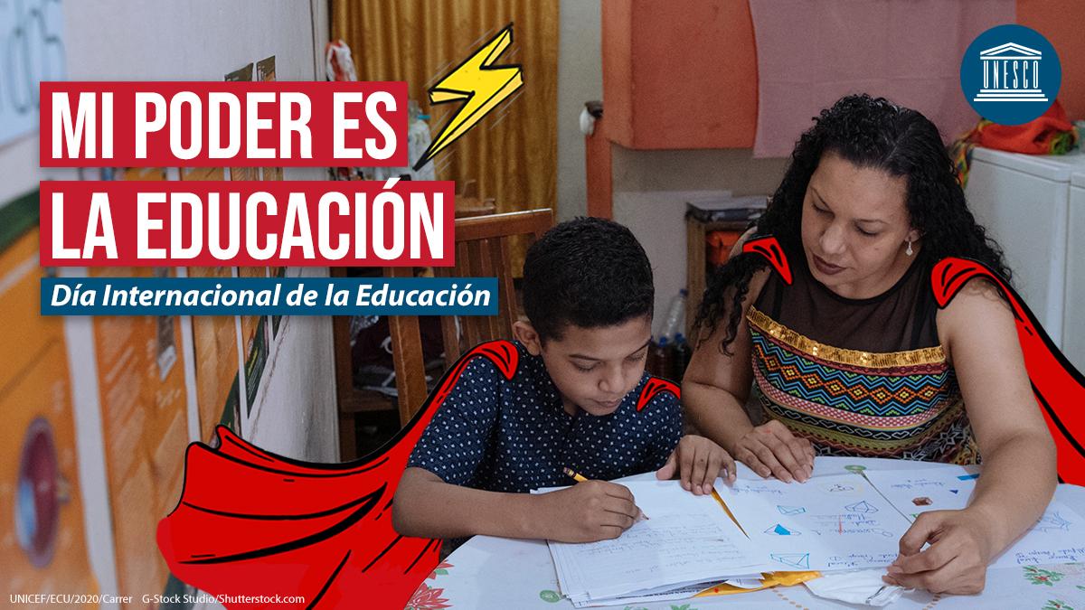 ✏️ Feliz #DíaDeLaEducación 📚 a todos los estudiantes, maestros, padres y otros héroes del aprendizaje que están trabajando duro para que la enseñanza continúe durante la pandemia, a pesar de las dificultades.