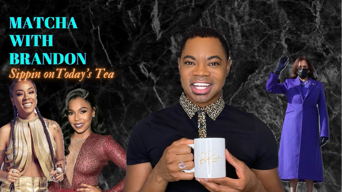 Chile, let's discuss this #Verzuz battle between #AshantivsKeyshia ! We are discussing #Inauguration2021 and more! Grab that 🍵 #brichbeauty #fridaymorning #FridayVibes