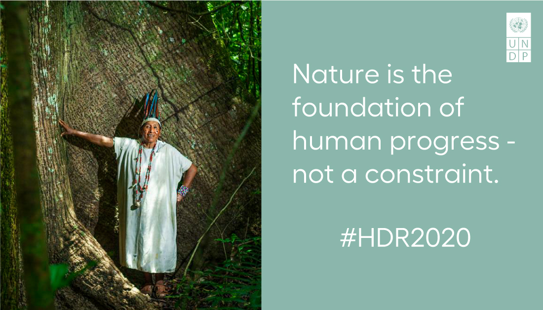 The Anthropocene, or the Age of Humans, is ushering in new set of complex, interconnected and universal development challenges. What does it take to establish a new balance between humans and nature? @KishanKhoday reflects on an agenda for change.  #HDR2020