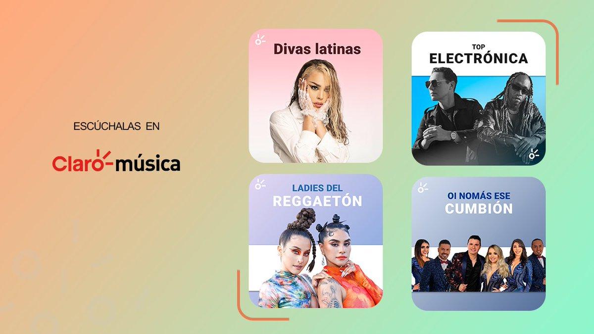 💃🔥 ¡Sube los decibeles para escuchar estas listas llenas de fueeegoooo! 🎉  Divas Latinas:  Top Electrónica:  Ladies del Reggaetón:  Oí no más ese cumbión: