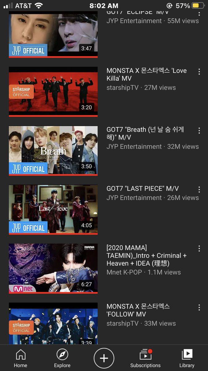 Are you still streaming Breath and Last Piece by GOT7? #ImpeachBidenNow