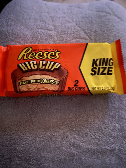 Now I have to squeeze test my @reeses before I buy them to make sure they're both in there. I have trust