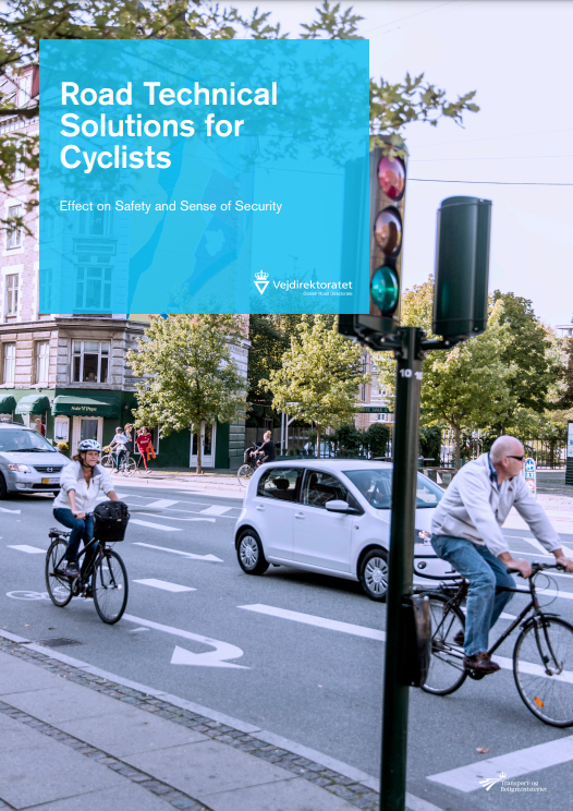 """As #trafficplanner, one might be led to believe (...) that when you choose the safest solution in terms of #roadsafety, and communicate this, the #cyclists will also find it safe to travel. But this is far form being the case..."""