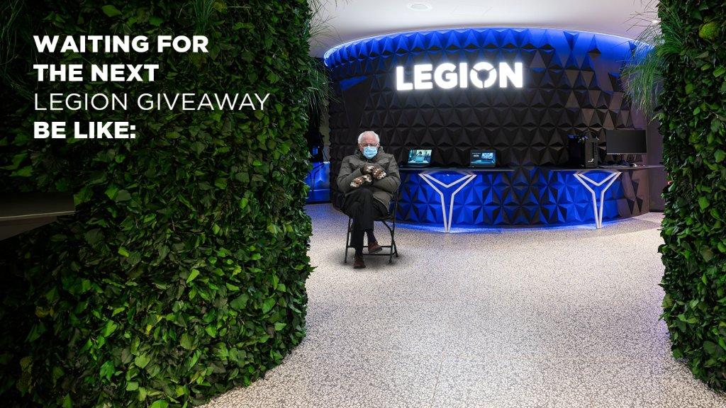 Legion PCs are so stylish & savage that everyone wants them. EVERYONE. 🧤