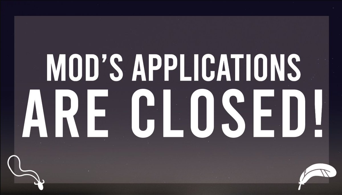 Our mod's applications are officially CLOSED! In a few days i will contact all of you trought email to confirm if you get selected! Thanks to all the people interested! #DeanWinchester #Castiel #Destiel #Deancas #CasDean #TheySilencedYou #TheySilencedthem