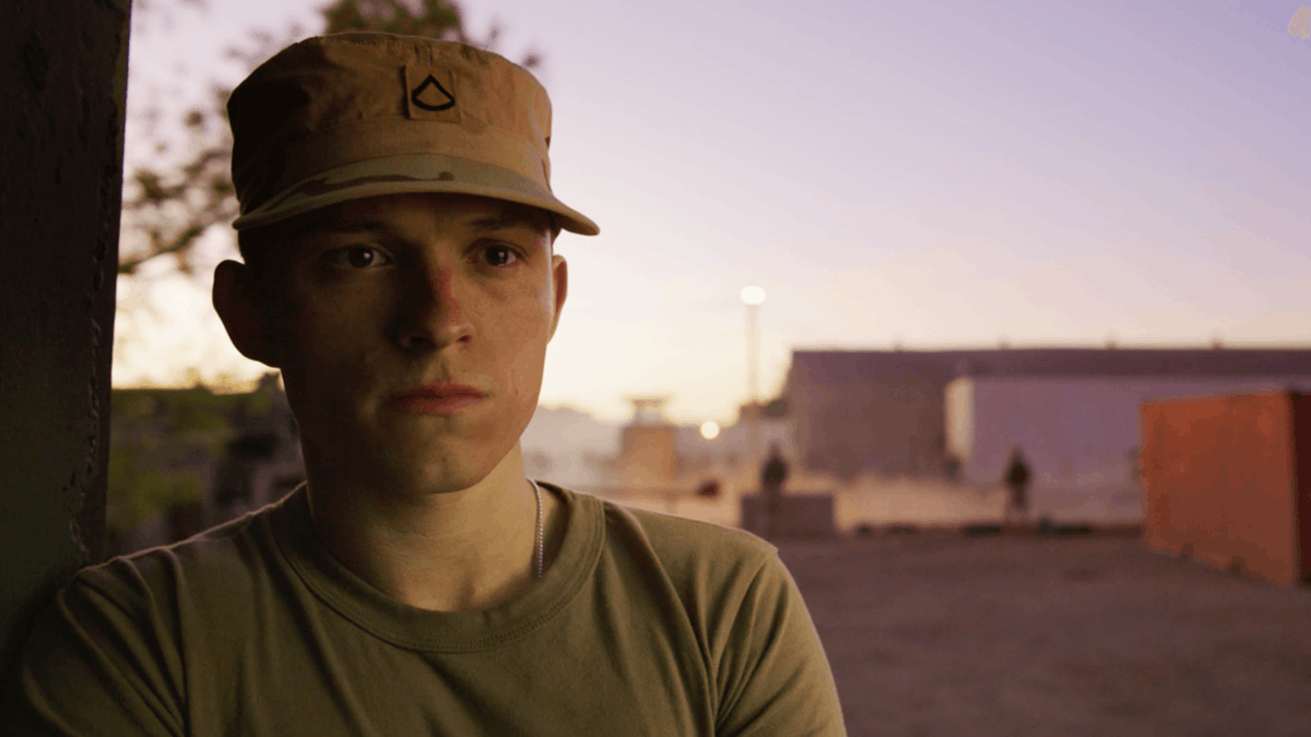 Watch:  New clip from the #RussoBrothers film #Cherry, headlined by #TomHolland