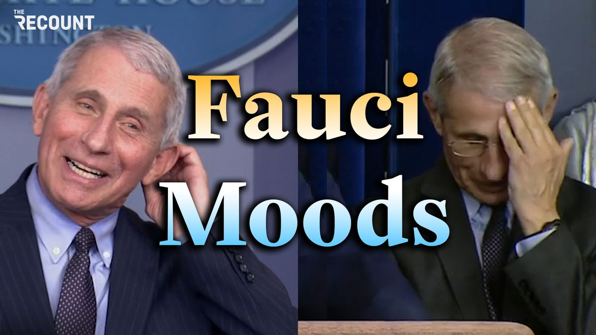 Fauci moods: Biden briefings vs. Trump briefings