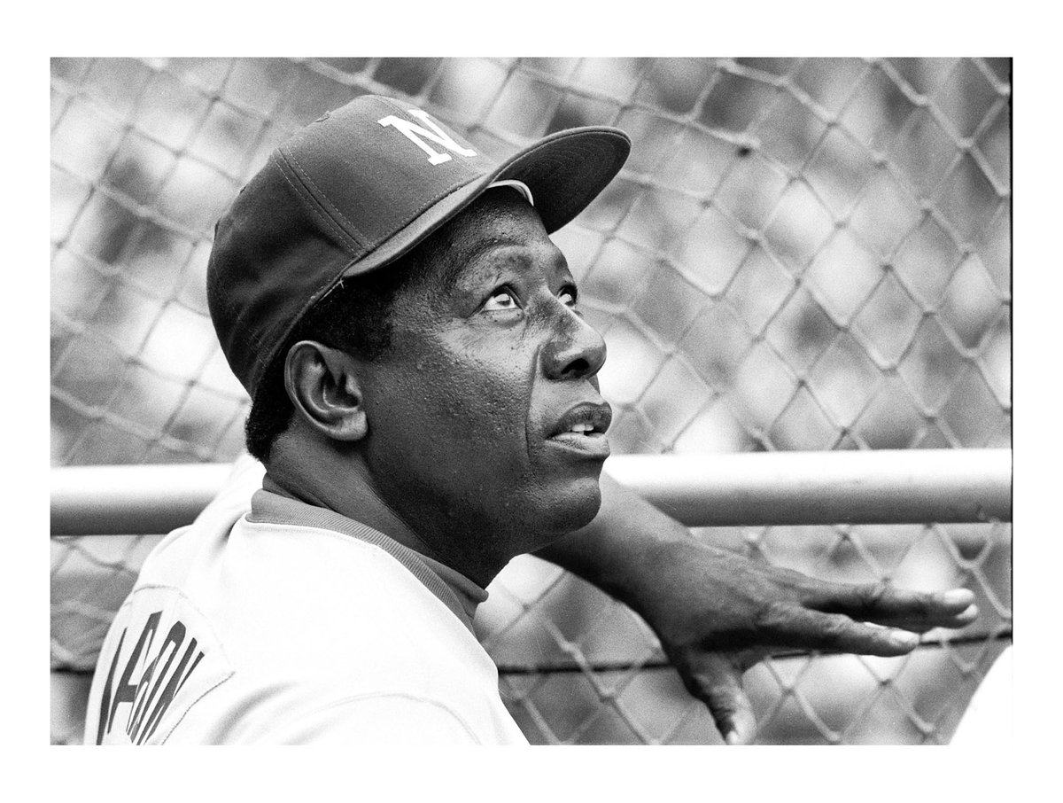Hank Aaron was one of the best baseball players we've ever seen and one of the strongest people I've ever met. Michelle and I send our thoughts and prayers to the Aaron family and everyone who was inspired by this unassuming man and his towering example.