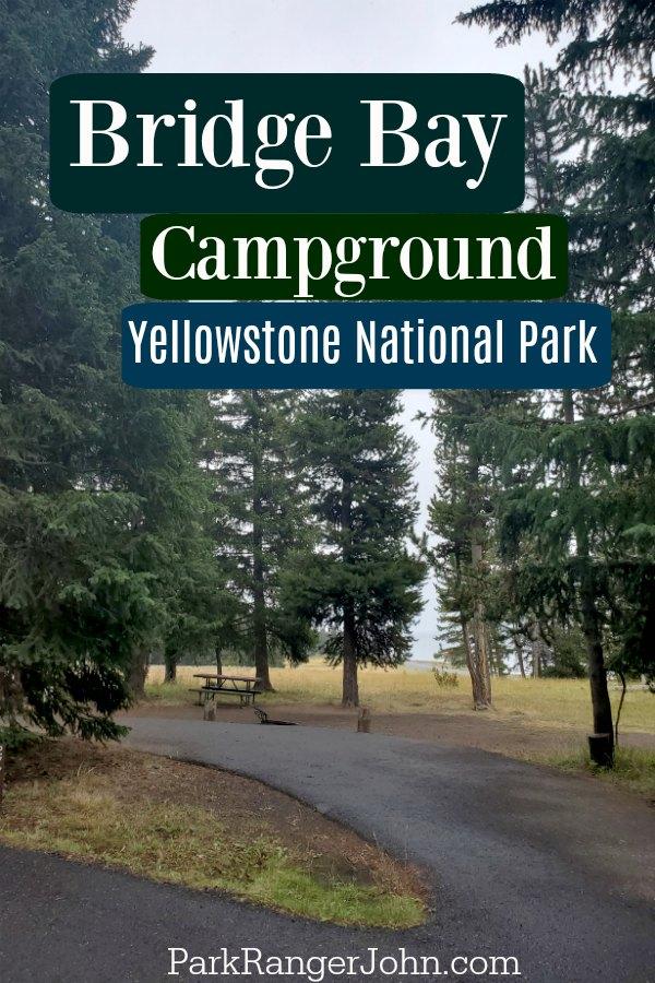 Bridge Bay Campground - Yellowstone National Park  #Travel #NationalPark