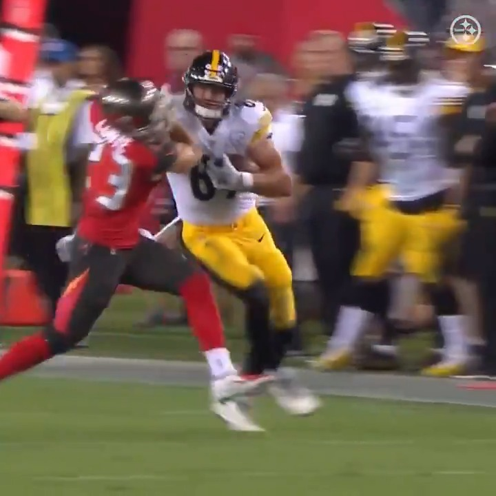 This stiff-arm will never be forgotten.
