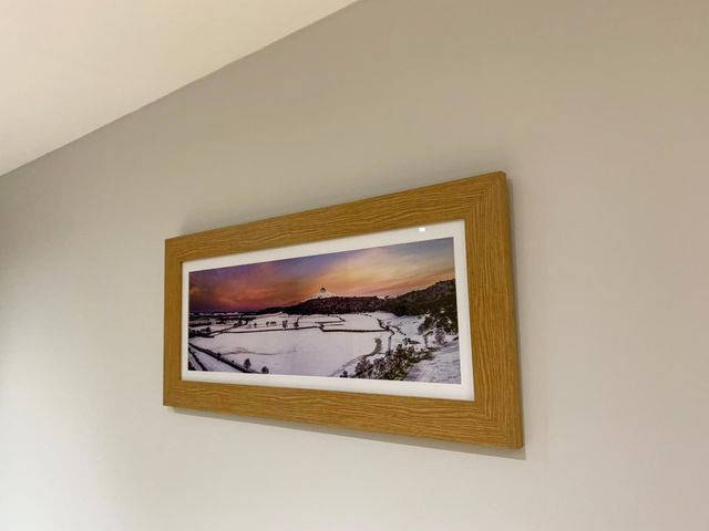 I got sent in a picture of the Roseberry Topping Print from a happy customer, its looks amazing on the wall 🥰     #photography #nature #landscapephotography #landscape #travelphotography #stockton #teesside