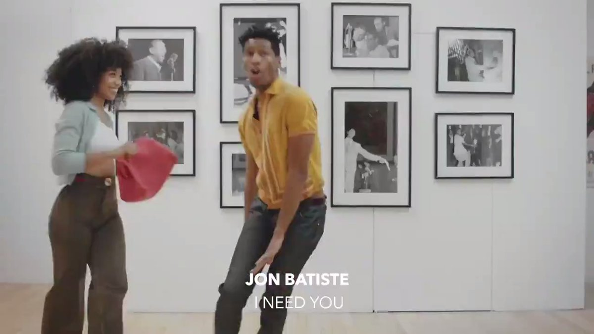 "SHOWTIME! @jonbatiste brings art to life by combining pop, soul and blues 🎷 ""I Need You"" is from his forthcoming 'WE ARE' album. ⠀⠀⠀⠀⠀⠀⠀⠀⠀ ▶️"