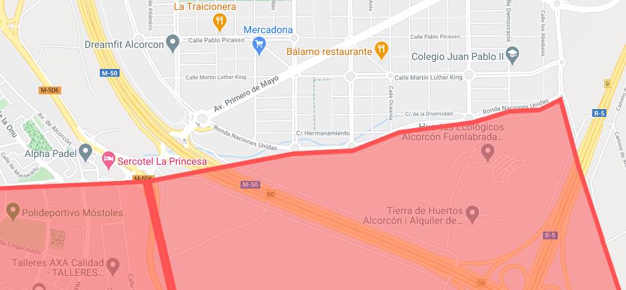 InfoNews ⚠️: 💢.@AlcorconEnBici💢 🗨️ Tenéis en teoría zonas limítrofes ..... #Fuenlabrada  #Mostoles  ᑕOᗰᑭᖇOᗰETIᗪOᔕ Eᑎ IᑎᖴOᖇᗰᗩᖇ [Eᔕ] 【ES】 🄴🄽🅂🄰🄽🄲🄷🄴🅂🅄🅁 #Alcorcón #𝗡𝗲𝘄𝘀𝗘𝗻𝘀𝗮𝗻𝗰𝗵𝗲𝗦𝘂𝗿  ᴹáˢ info 🔻