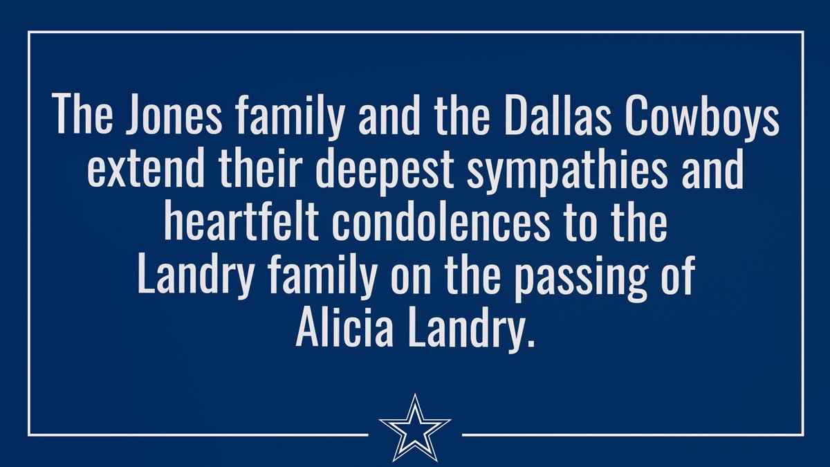 Sending our deepest sympathies to the family & friends of Alicia Landry.