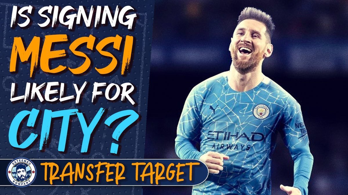 NEW VIDEO: Could City actually sign Messi or Haaland? Future left-back options, KDBs injury and more... | Transfer Target Daily 🎯 Powered by @SnickersUK #Fanline ➡️ youtu.be/BJHLl7z6pVI ⬅️