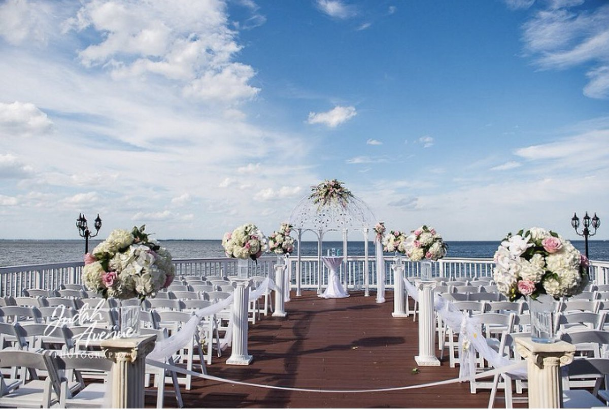 A huge congratulations to Latosha & Anthony on their recent engagement and for choosing our very own Celebrations at the Bay! We are beyond excited about your special day! 🥂 🎊 🍾 🎉 Check out this and our other beautiful venues at  #wedding #bridetobe