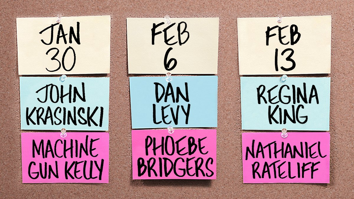 New year, new hosts, new musical guests. 😎 #SNL