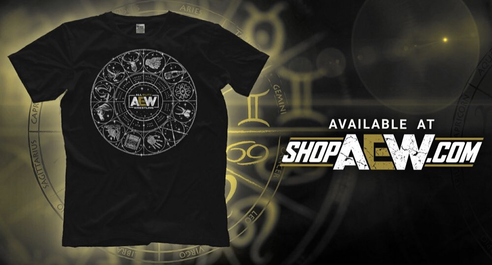 New releases on ShopAEW! Check out AEW Horoscope, The Acclaimed and Darby! @AEW #AEWDynamite https://t.co/hArHn9SKI6