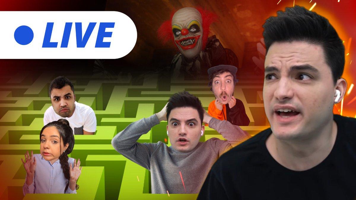 A live de hoje vai ser um pouquinho diferente.........  Link: