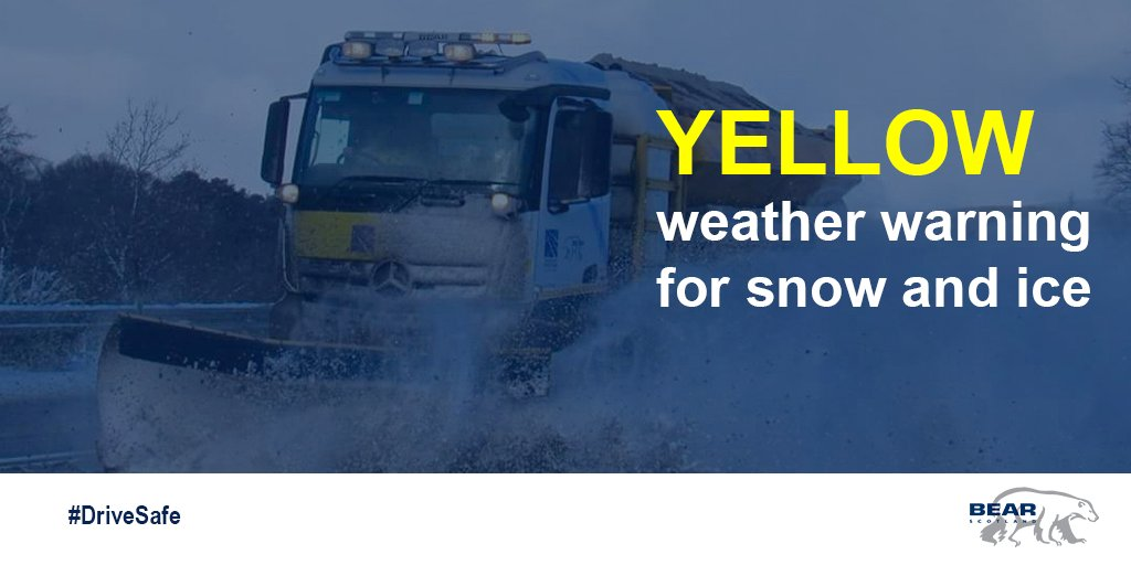❄️ A yellow weather warning for #snow and #ice will be in place across parts of Scotland from 4pm today until 10.30am tomorrow. Our teams will be working round the clock to ensure routes remain safe - please drive to conditions if out. More info:  ❄️