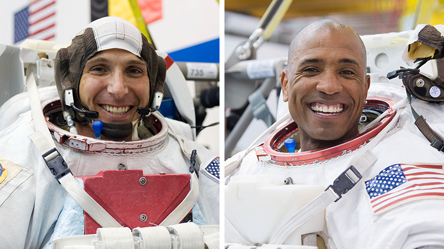 We are answering your #AskNASA questions live on @NASA TV during a briefing starting at 3pm ET today to discuss two upcoming spacewalks with @Astro_Illini and @AstroVicGlover.