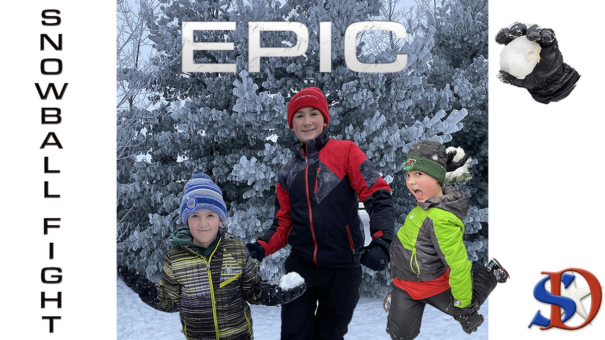 LMAO SNOWBALL FIGHT! Need some laughs to brighten your day!? WE are HERE for YOU! #snowballfight #snow #snowball #epic #hilarious #funny #mustwatch #snowing   EPIC SNOWBALL FIGHT |  MUST WATCH for some good LAUGHS!  HILARIOUS YouTu...  via @YouTube