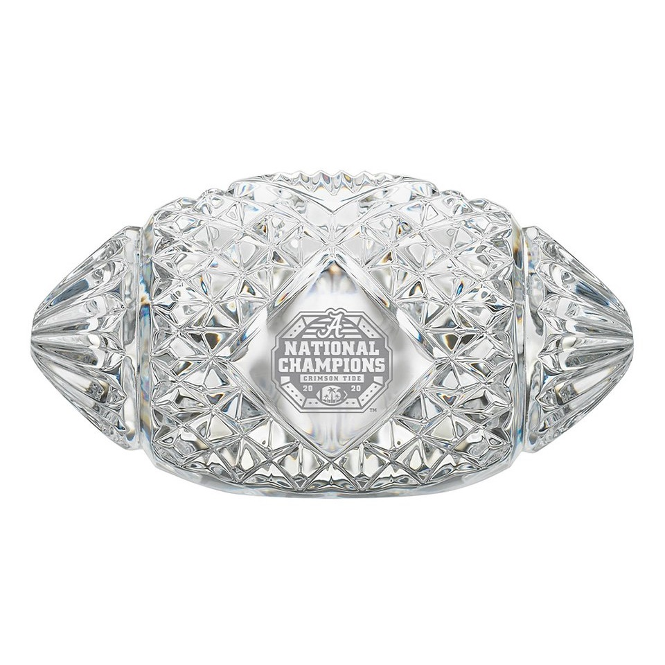 Attention all Alabama fans, celebrate your win of the 2020 College Football National Championships with the perfect limited edition crystal keepsake. #Rolltide #rolltideroll #alabama #bama #alabamafootball #crimsontide #collegefootball